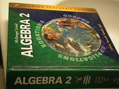 Algebra 2 textbook mcdougal littell online