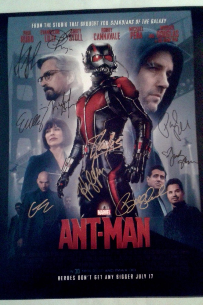 Ant man cast