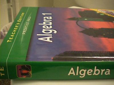 PRENTICE HALL SMITH CHARLES ALGEBRA 1 STUDENT EDITION 2006C by Stanley A Smit…