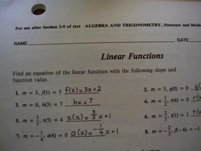 Algebra and trigonometry structure and method book 2 worksheet answers