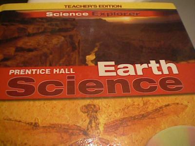 EBlueJay Prentice Hall Science Explorer Earth Science