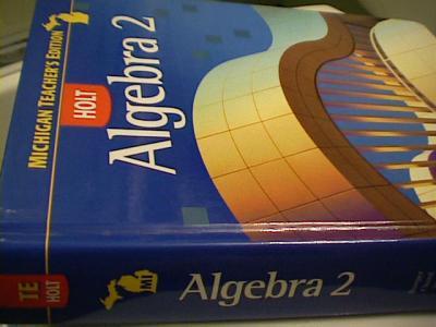EBlueJay Holt Algebra 2 TEACHER S EDITION 2007 Used For
