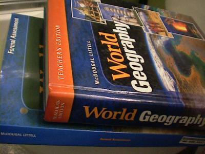 eBlueJay: McDougal Littell World Geography TEACHER'S EDITION Test