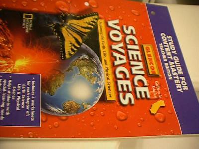 Glencoe level red science book