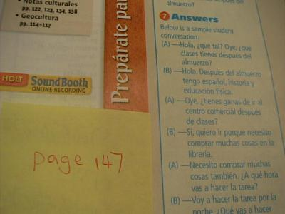 HOLT SPANISH EXPRESATE 3 WORKBOOK ANSWERS DOWNLOAD HOLT ...