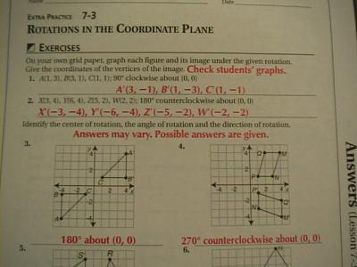 Glencoe algebra 1 chapter 10 resource masters