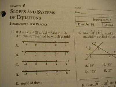 geometry homework practice workbook answers