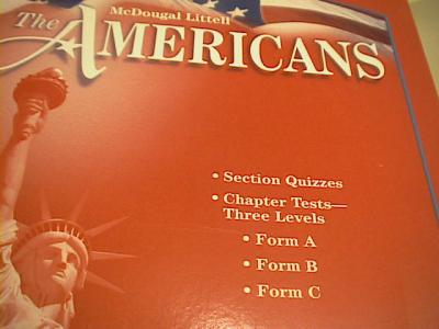 americans holt mcdougal section quiz answers