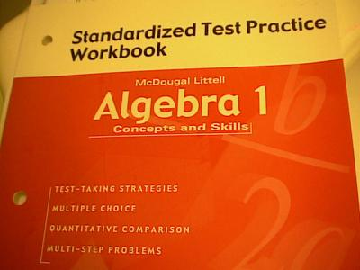 EBlueJay Isbn 0618078673 Algebra 1 Concepts And Skills