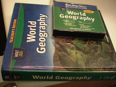 EBlueJay Holt Social Studies World Geography TE Resources