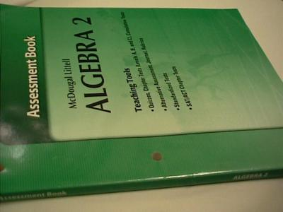 eBlueJay: McDougal Littell Algebra 2 Quizzes and Chapter