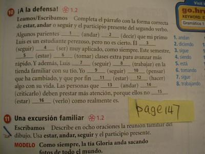 Worksheets Holt Spanish 2 Workbook Answer Key holt spanish book gallery