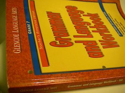 eBlueJay: Glencoe Language Arts Grammar and Language