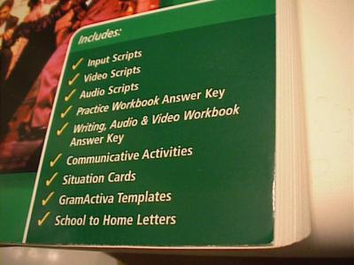 EBlueJay Realidades 3 Teacher S Resource Book Contains
