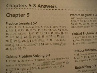 Worksheet Glencoe Algebra 1 Worksheet Answers glencoe algebra 1 chapter 8 practice test prentice hall 5 answers glenco 1