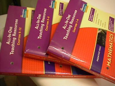 EBlueJay Prentice Hall Mathematics Course 3 Chapter