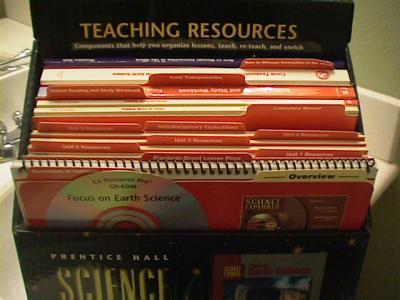 Focus On Earth Science, California Grade 6 Teacher Wraparound Edition 2007 *NEW*
