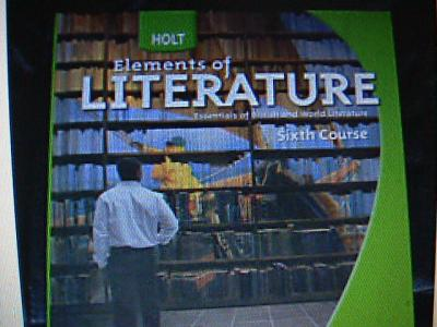 EBlueJay Holt Elements Of Literature 6th Course Language