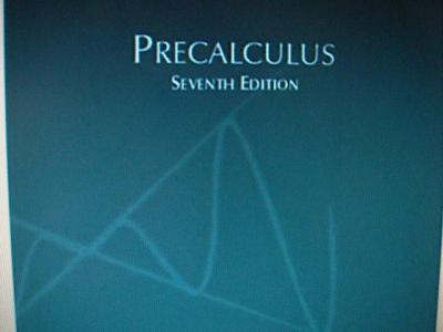 Precalculus Mathematics For Calculus 7th Edition Solutions Manual