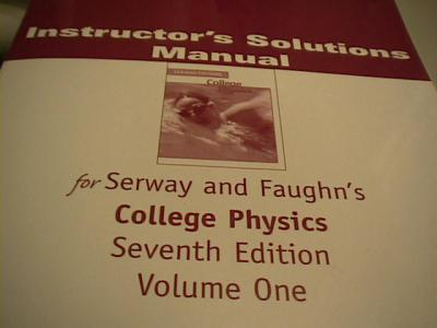 EBlueJay College Physics Instructor S Solutions Manual
