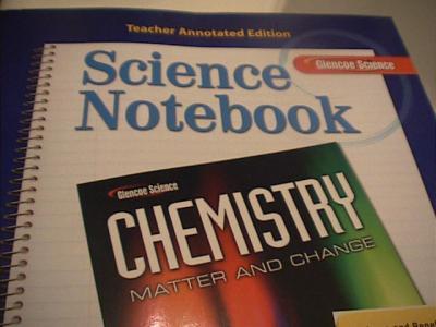 EBlueJay Glencoe Chemistry Matter And Change Science