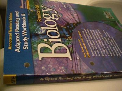 Prentice Hall Biology Reading And Study Workbook B Teacher S Edition Used For SE 0131662597 1bk 3031700 3390648 on Biology I Teacher S Edition Te