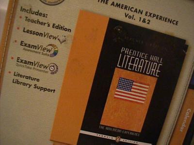 prentice hall american literature textbook pdf