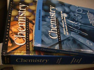 Ebluejay: addison wesley chemistry teacher's edition test book.