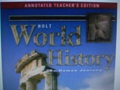 Holt world history textbook pdf