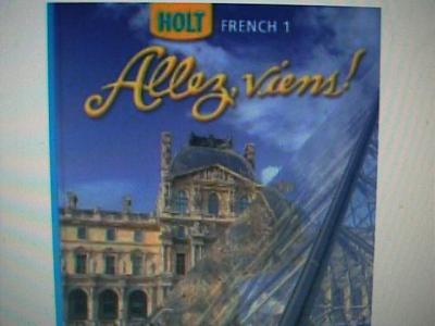 Holt French 1 Teacher S Edition Used To Se 0030369428 2006 One Book
