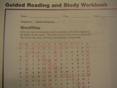 Physical science reading and study workbook chapter 6