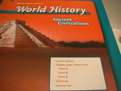 EBlueJay Mcdougal Littell World History Ancient