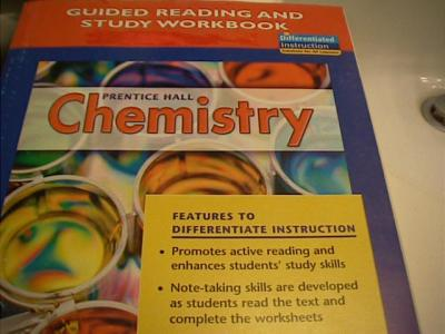 eBlueJay: 0131903624 prentice hall chemistry guided reading