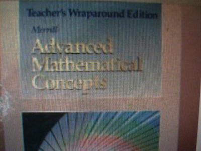 eBlueJay: Merrill Advanced Mathematical Concepts Precalculus