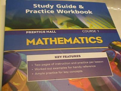 EBlueJay Prentice Hall Mathematics Course 1 Study Guide