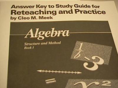 algebra 2 study guide and intervention workbook answer key