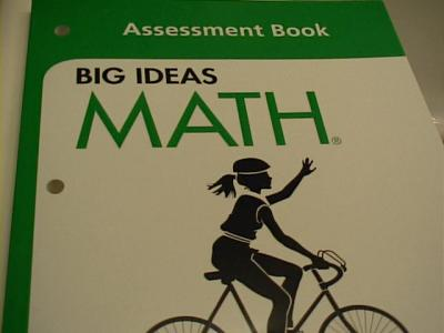 eBlueJay: Big Ideas MATH Test Book with answers Green Level