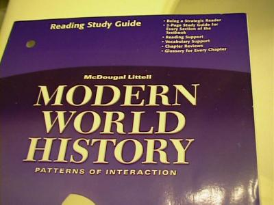 EBlueJay Modern World History Patterns Of Interaction Reading Study Magnificent World History Patterns Of Interaction Answers
