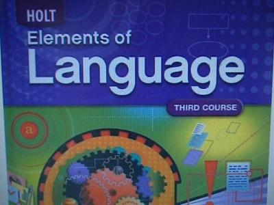 Holt Elements Of Language Third Course Answer Key ...