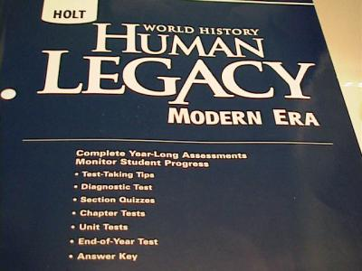 ebluejay holt world history human legacy modern era test. Black Bedroom Furniture Sets. Home Design Ideas