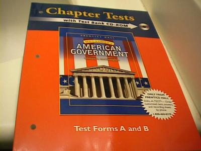 EBlueJay Magruder S American Government Chapter Tests