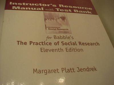 The practice of social research 11th edition paperback