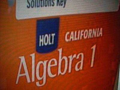 ebluejay holt california algebra 1 complete solutions. Black Bedroom Furniture Sets. Home Design Ideas