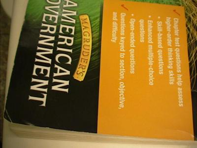 EBlueJay Magruder S American Government Test Book Without