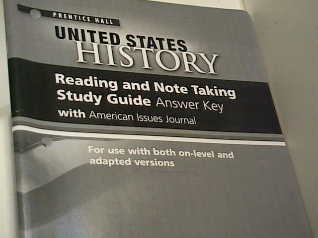 EBlueJay Prentice Hall United States History Reading And