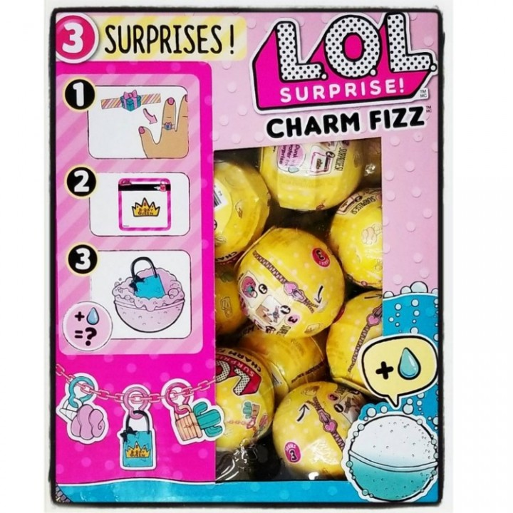 Ebluejay L O L Lol Surprise Series 3 Charm Fizz Mystery Blind