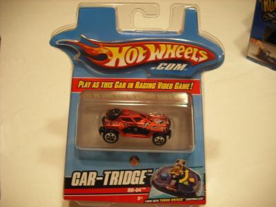 Mattel Hotwheels Turbo Driver RD-04 Car-Tridge
