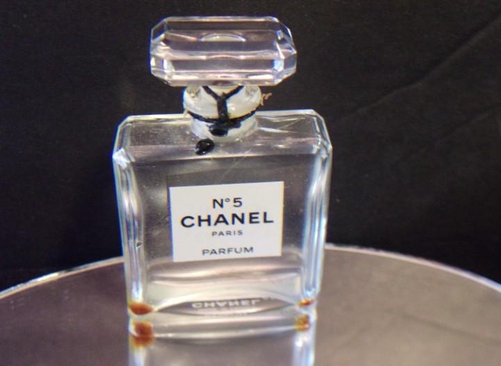 a8be516d eBlueJay: Chanel No 5 Parfum Glass Bottle Paris France Vintage ...