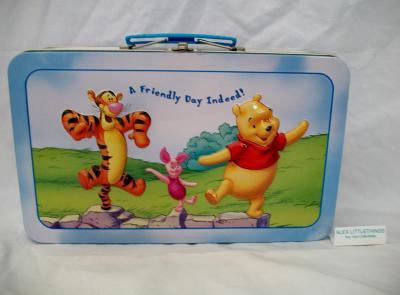 Tigger Piglet u0026 Winnie The Pooh tin lunch box & eBlueJay: Tigger Piglet u0026 Winnie The Pooh tin lunch box Aboutintivar.Com