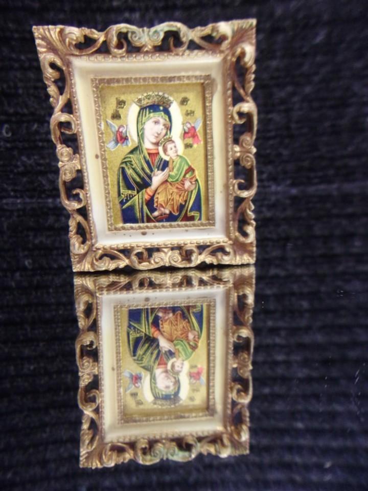 eBlueJay: Virgin Mary Baby Jesus Picture Vintage Greek Orthodox Hong ...
